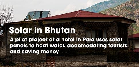 solar project in Bhutan