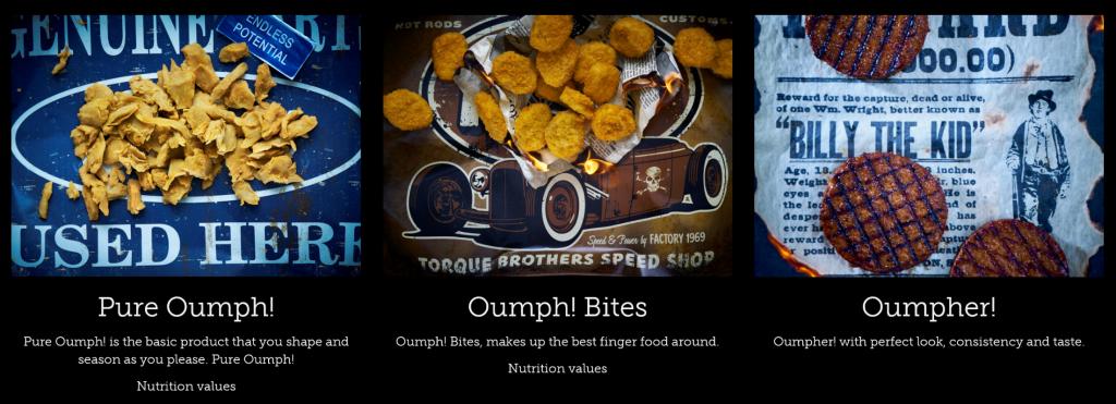 Oumph! produits alimentaires durables