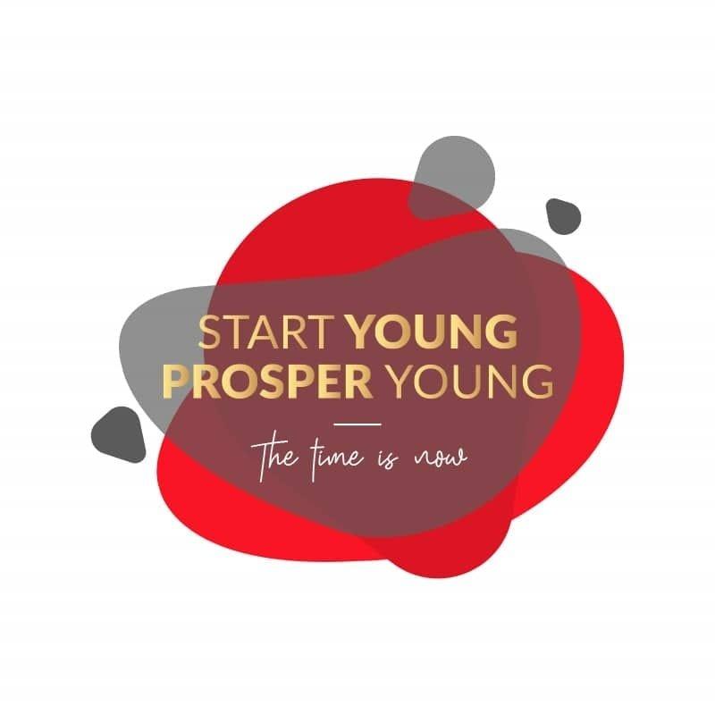 empezar joven prosperar joven